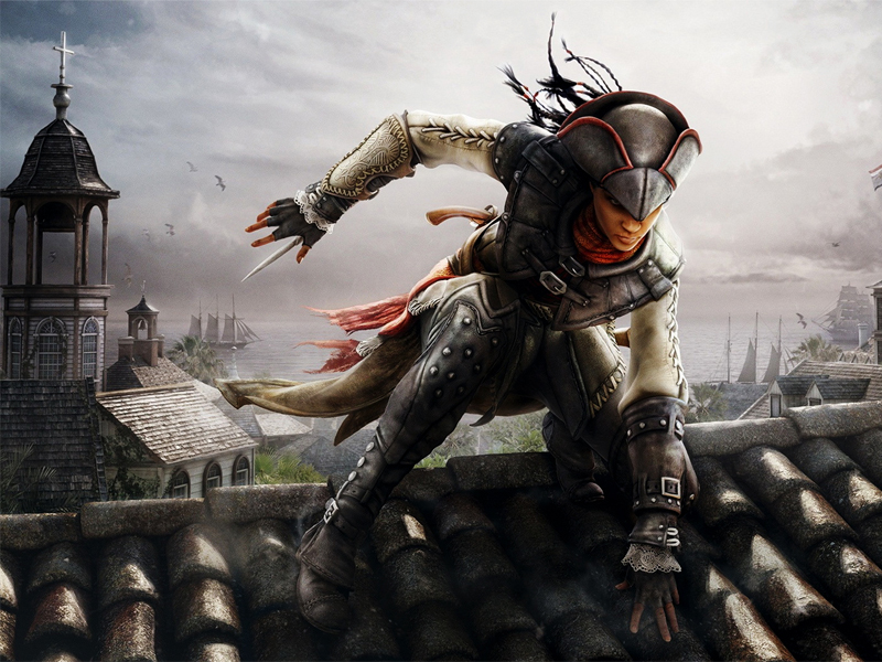 Aveline from Assassins Creed: Liberation