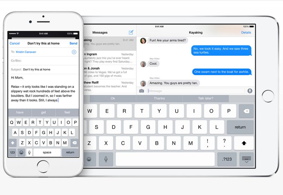 Apple iOS Keyboard