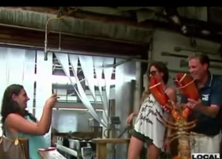 Grandpa Monster Lobster