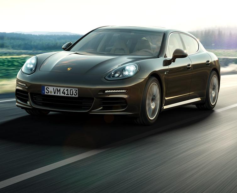 Porsche Panamera S model