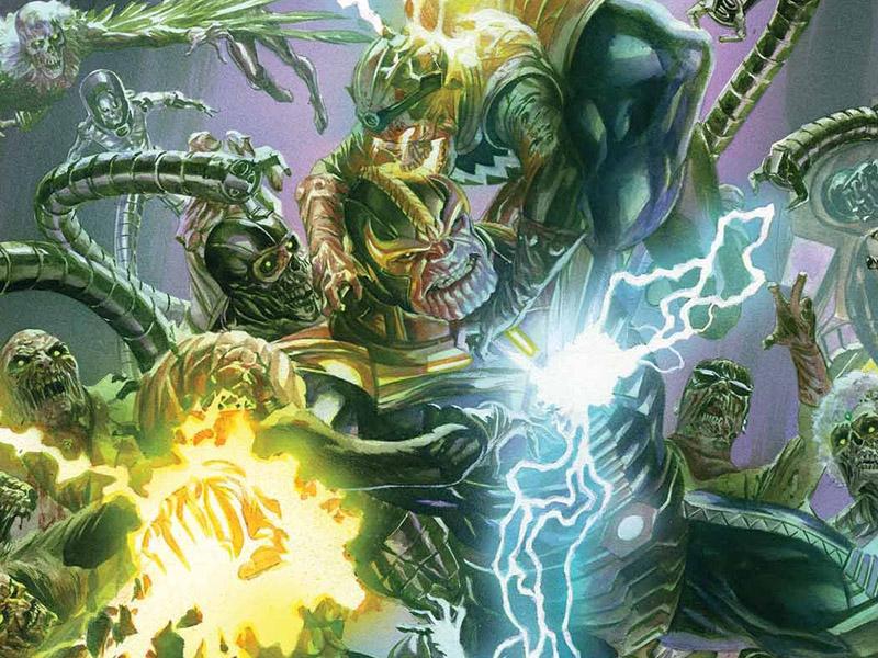 'Secret Wars' #6 cover art
