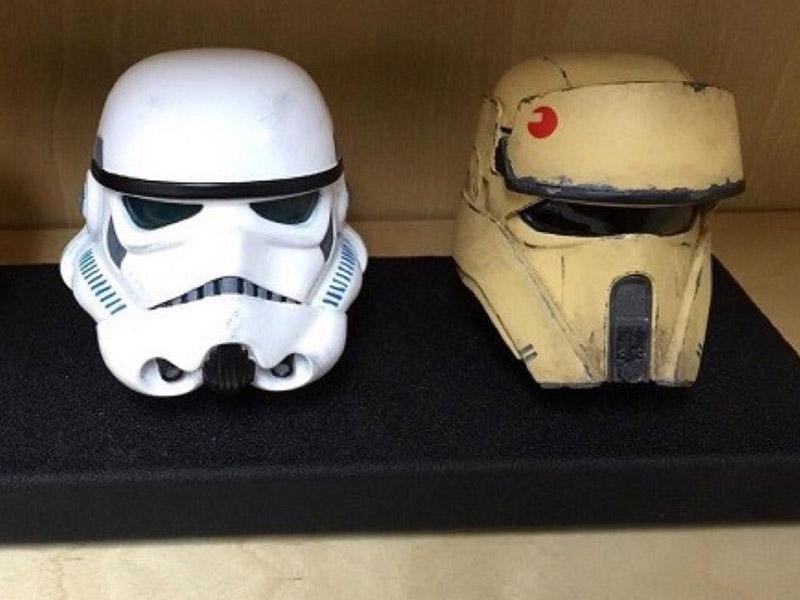'Star Wars: Rogue One' helmets