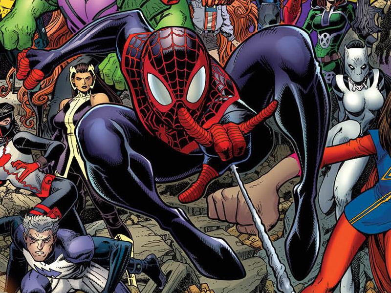 'Avengers' #0 cover art
