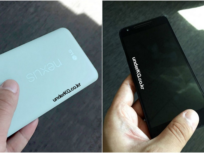 Purported LG Nexus 5X (2015) In Mint Green Color Option