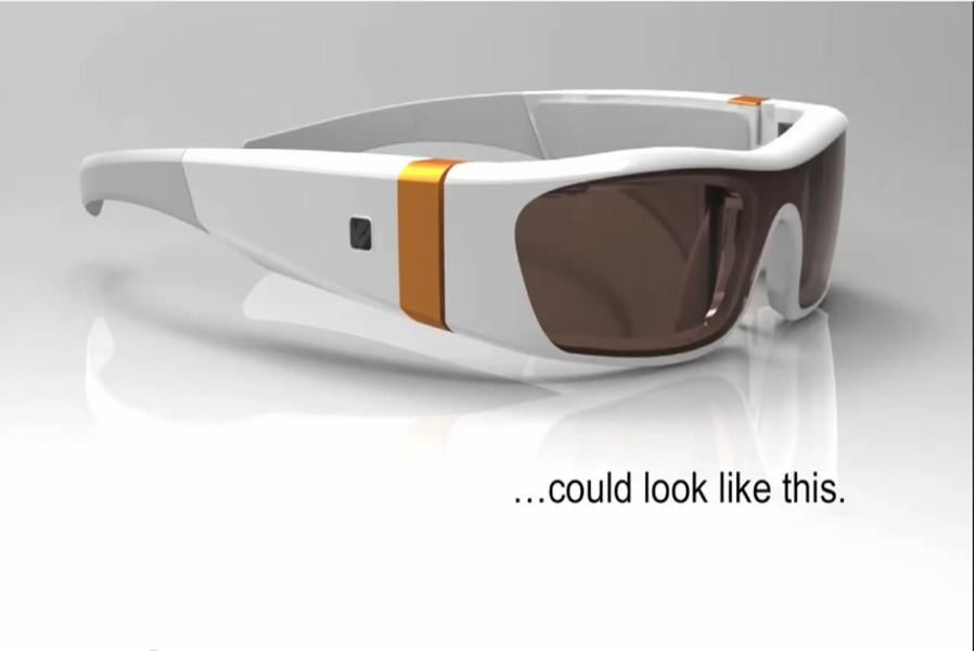 Microsoft Augmented reality glass