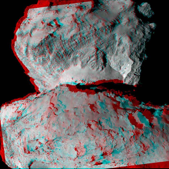 67P/Churyumov-Gerasimenko comet by Rosetta