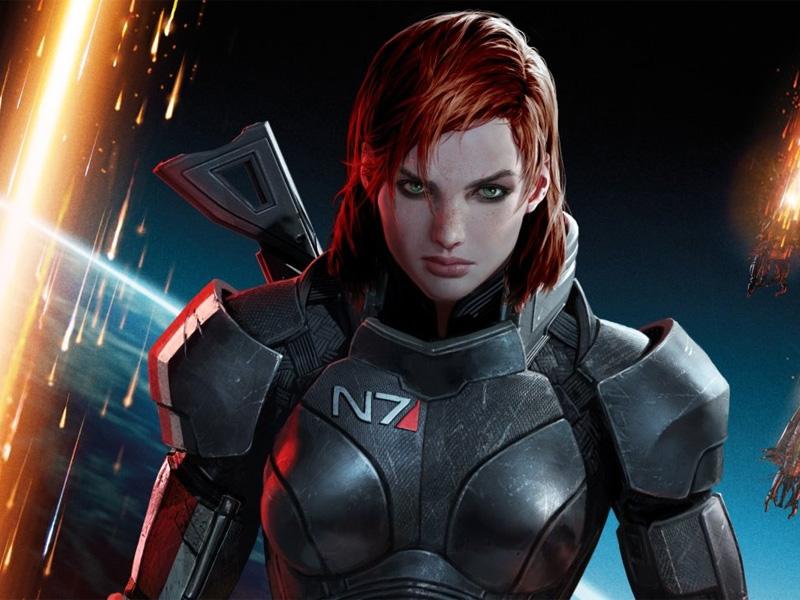 Fem Shepard from Mass Effect