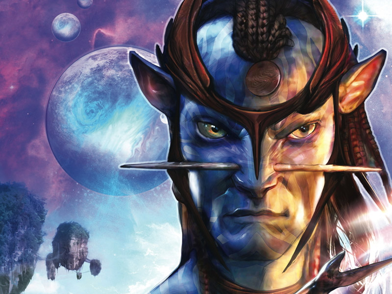 'Avatar' comics from Dark Horse