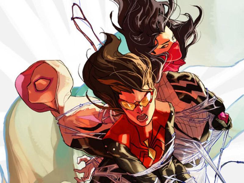 'Spider-Women: Alpha' cover art