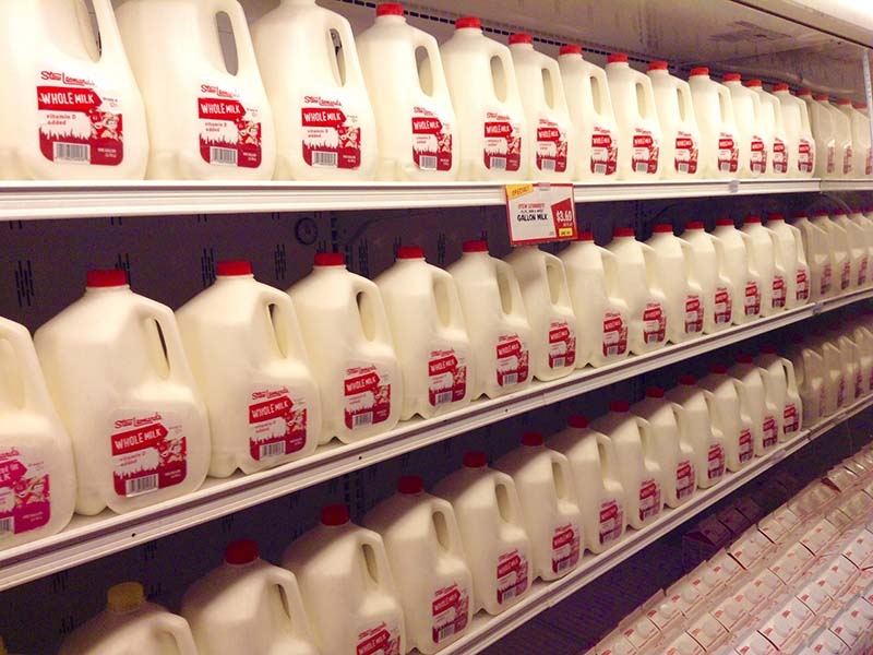 Milk in Store