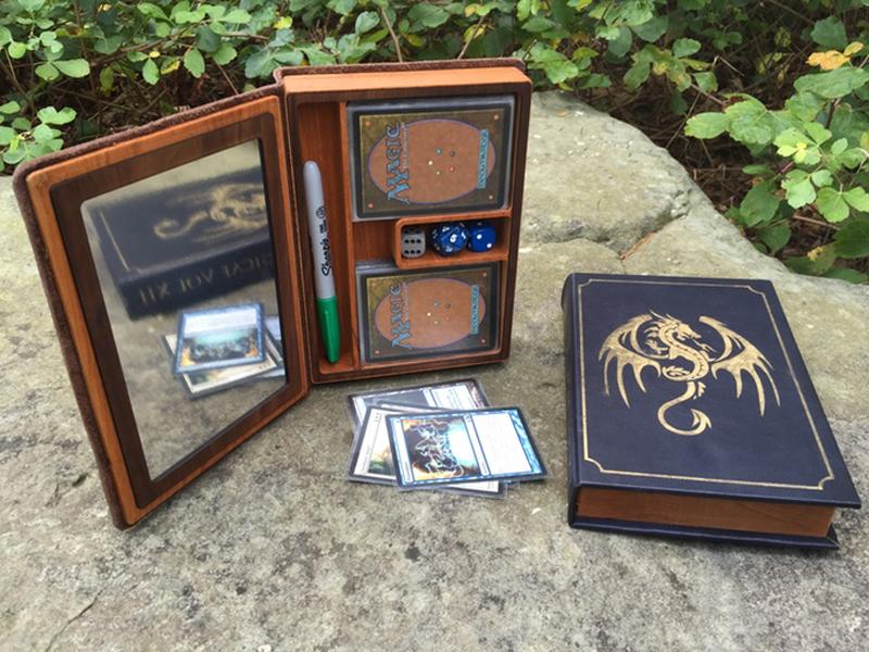Elder Wood Spell Book Gaming Boxes