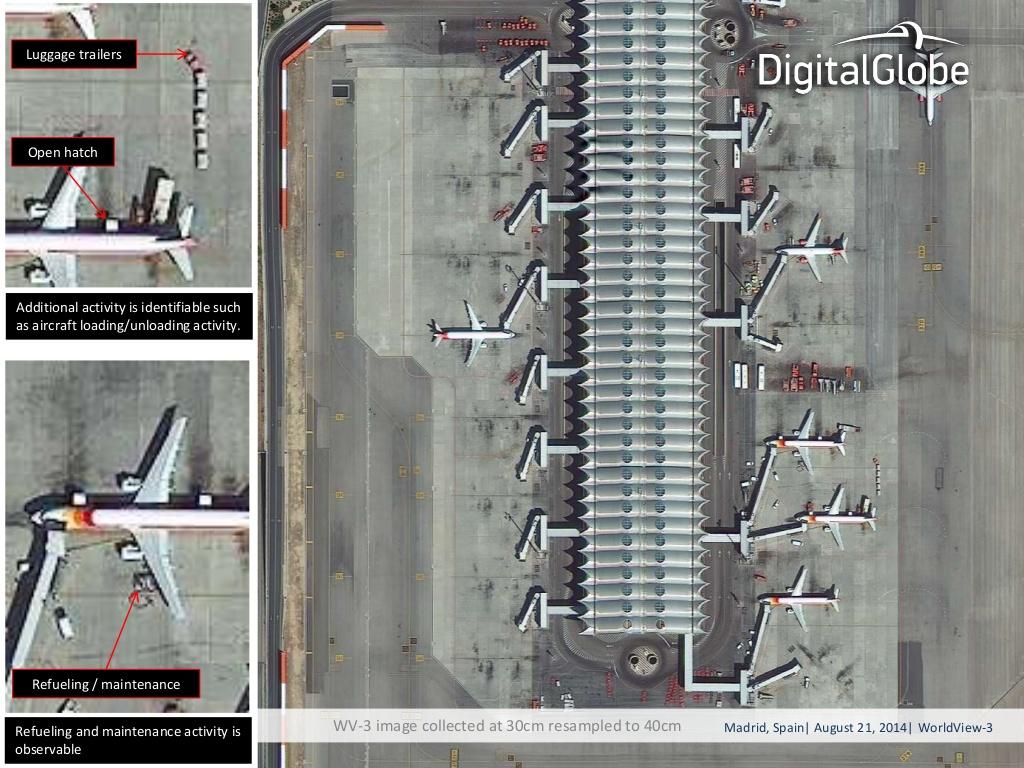 Digital Globe Satellite Photo