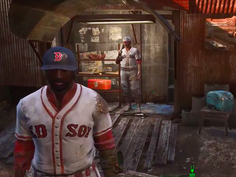 Boston Red Sox mod in Fallout 4