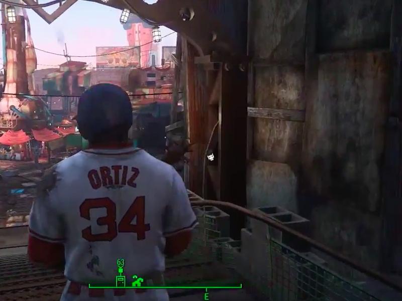 David Ortiz in Fallout 4 Mod