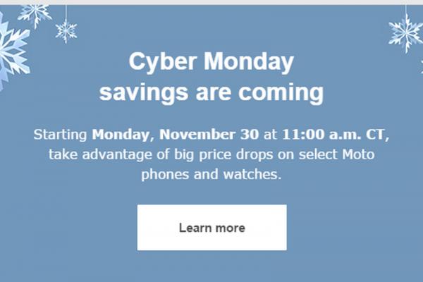 Motorola Cyber Monday Slashing Up To 50 Percent Off Moto 360 Second Generation Moto X And Moto G Tech Times