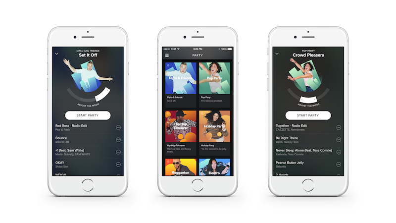 Spotify Launches New Personal DJ Feature That Spins Mood-Based Party Playlists