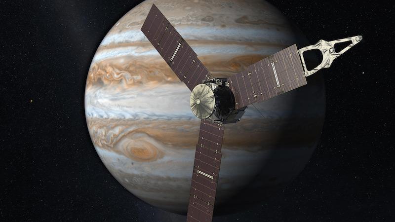 NASA's Jupiter Probe Juno Sets Solar-Powered Spacecraft Distance Record