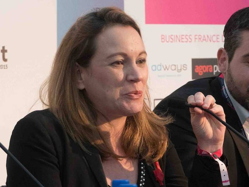 French Deputy Minister of Digital Affairs Axelle Lemaire