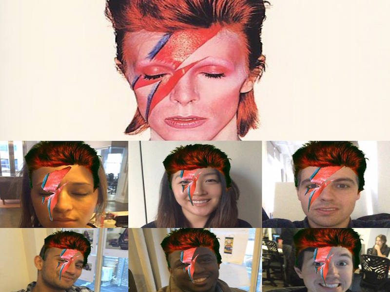 Blippar Lets Users Pay Tribute To David Bowie With Ziggy Stardust Selfie Filter