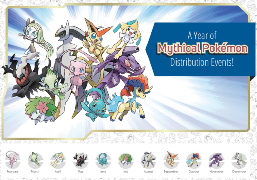 Mythical Pokémon Special Distribution