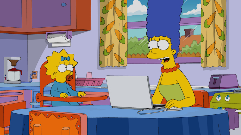 A Web Developer Recreated 'The Simpsons' Characters Using Computer Code