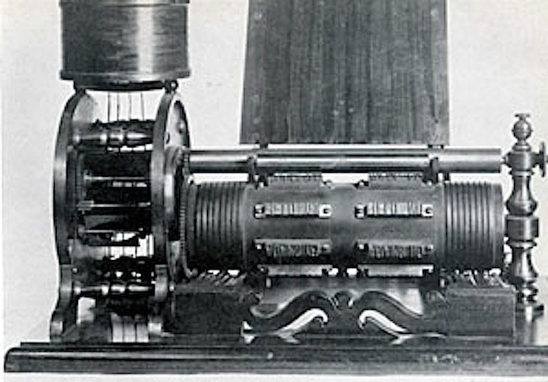 Thomas Edison's electrographic voting-recorder