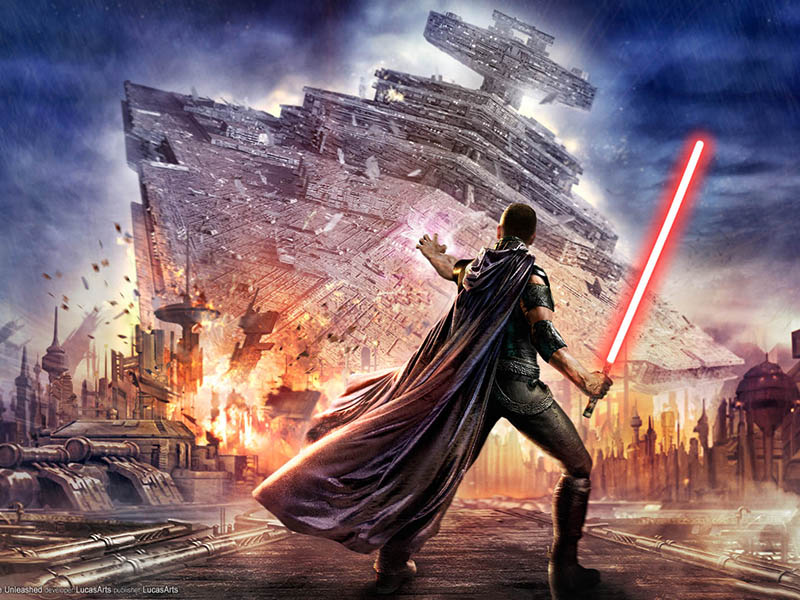 Star Wars: The Force Unleashed - Downed Star Destroyer