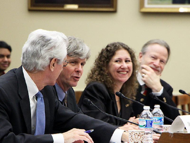LIGO members at the Congressional hearing