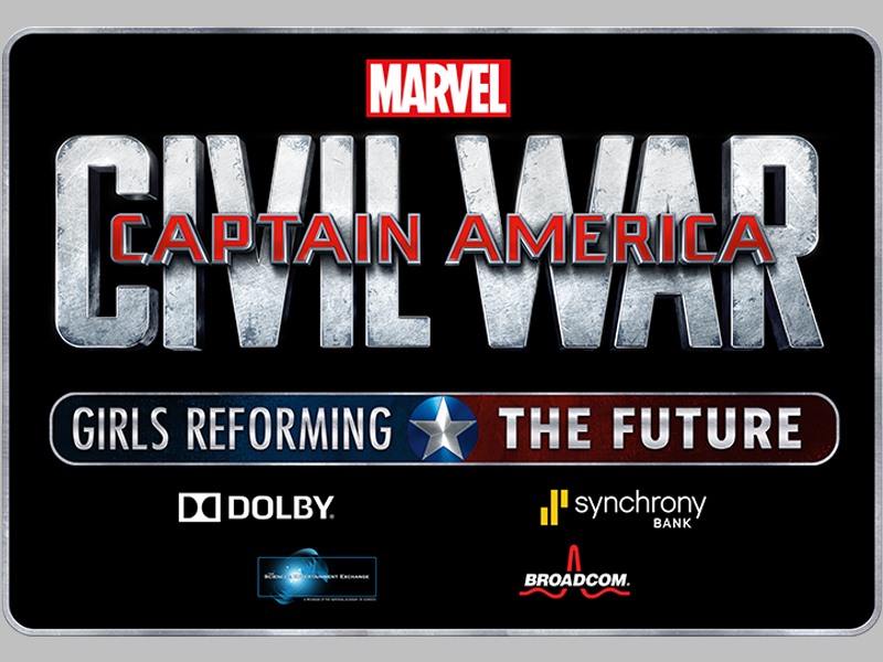 Captain America: Civil War - Girls Reforming the Future Challenge