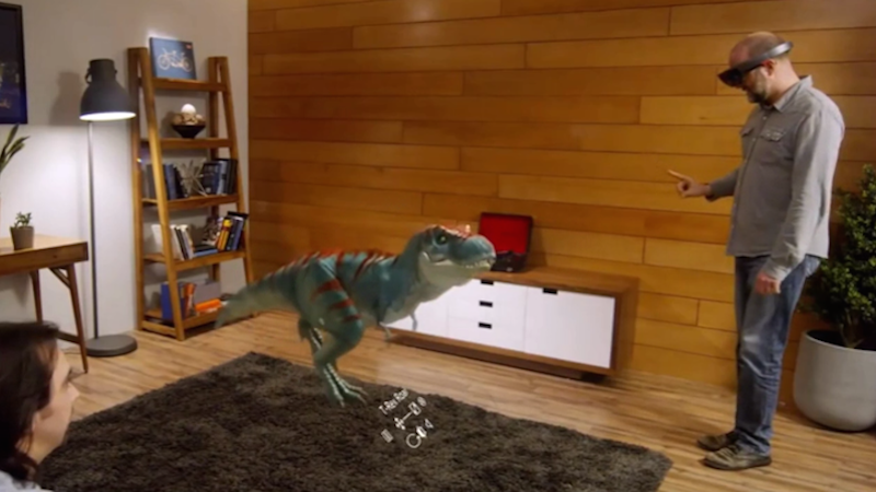 Microsoft's New HoloLens App Allows Creators To Make Movies With Holograms