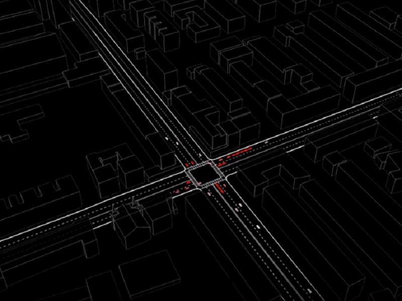 Traffic-light-free transportation design