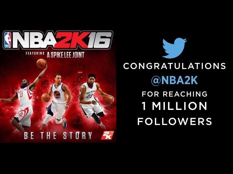 NBA 2K Twitter Followers