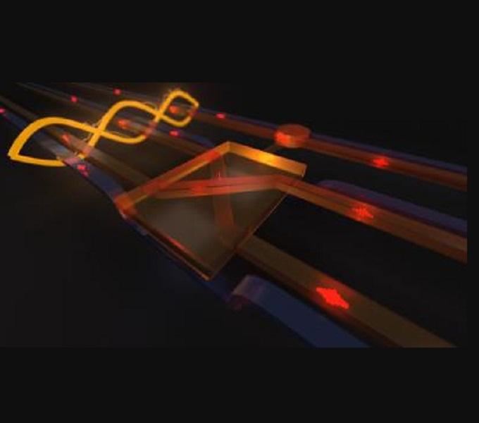 Quantum fredkin gate