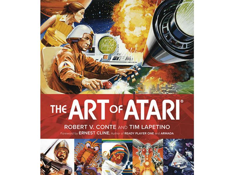 The Art of Atari cover