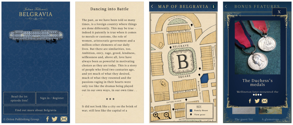 Julian Fellowes is Back with Belgravia, an App for the 'Serial'-Loving Audience