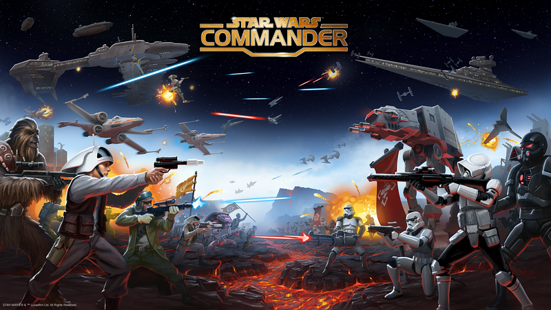 'Star Wars Commander' Launches New Multiplayer Gameplay That Lets Squads Rage War On Planet Sullust
