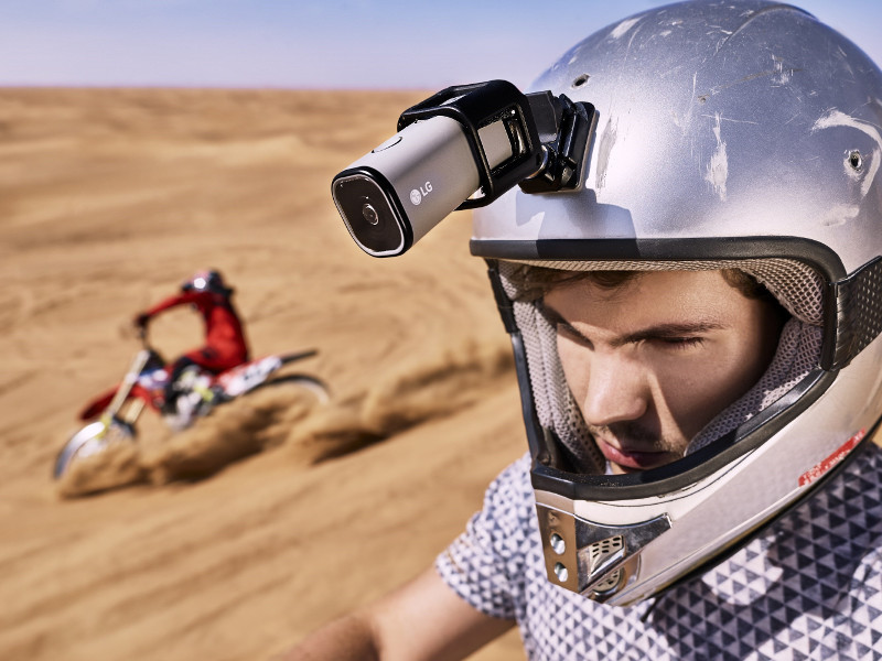LG to Launch a New LTE Action Camera for Live Streaming to YouTube