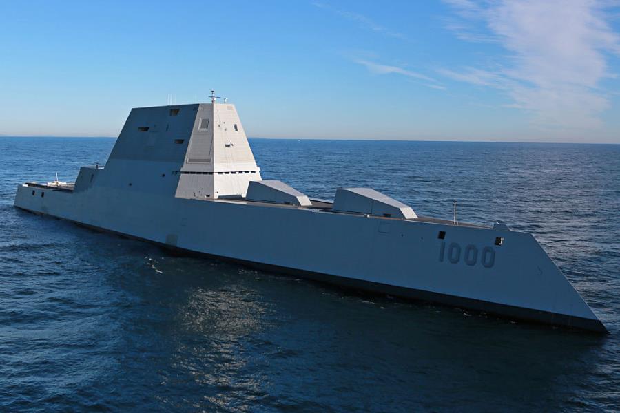 Zumwalt Stealth Destroyer
