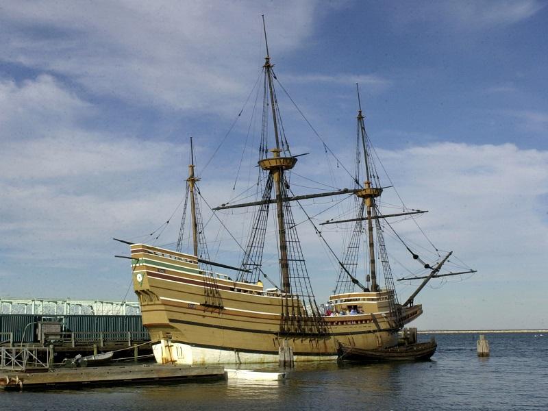 Mayflower II replica