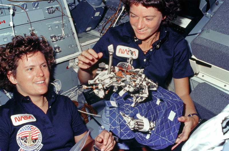 Sally Ride and Kate D. Sullivan