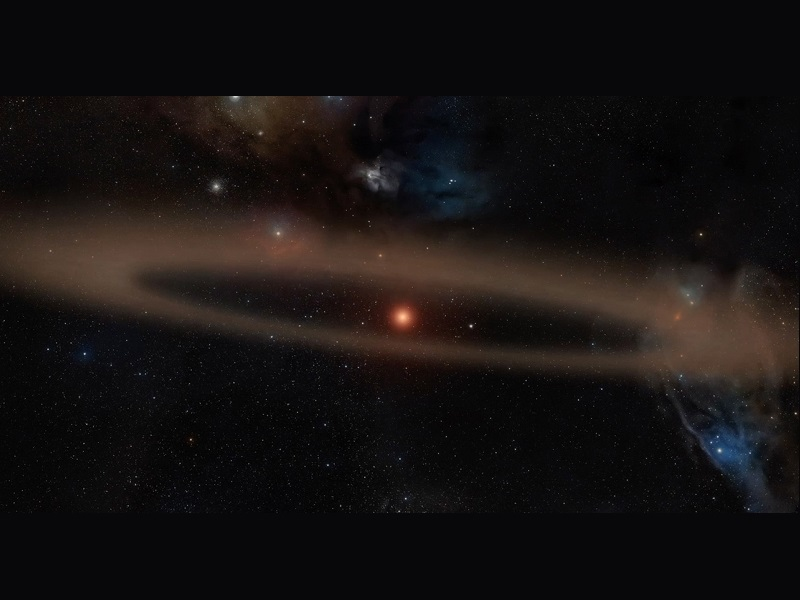 Young Star and Its Infant Planet