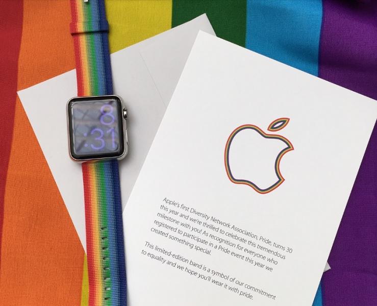 Apple Watch Rainbow Band