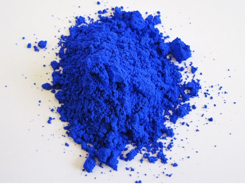 Vivid shade of blue