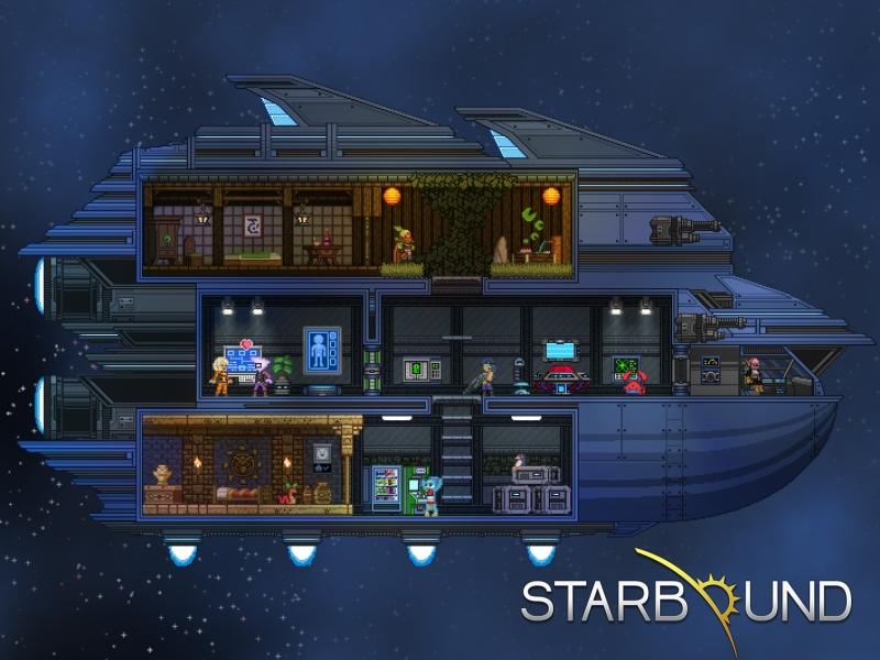 Starbound Ship