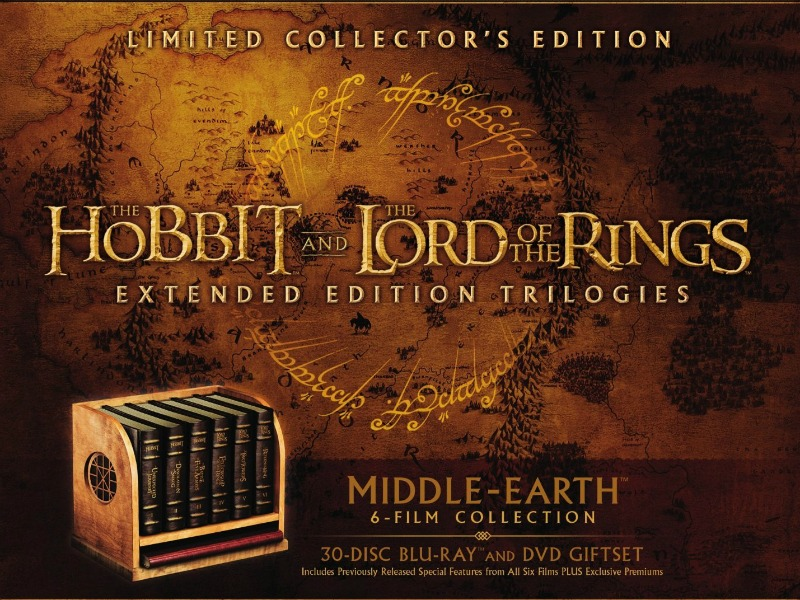 Middle-earth Ultimate Collectors Edition Blu-ray