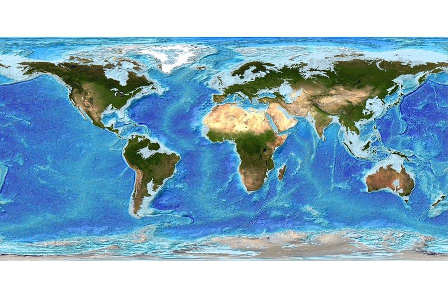 Earth Polar Ice