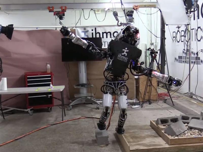 Boston Dynamics Robot Balance
