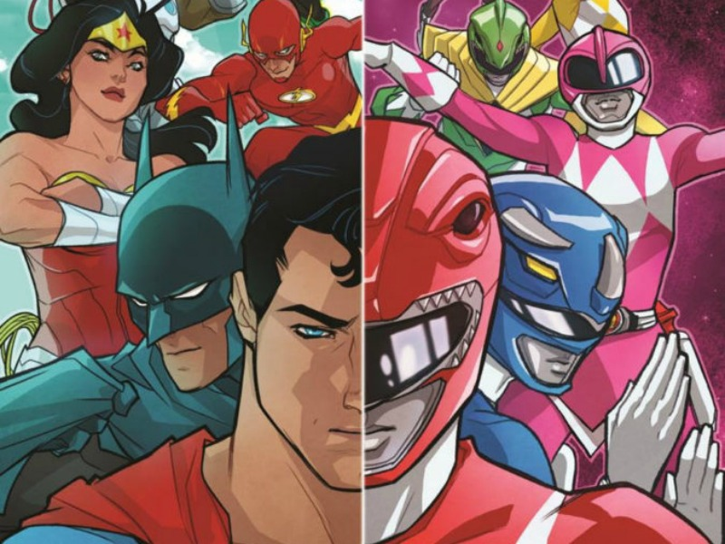 Power Rangers and the Justice League crossover
