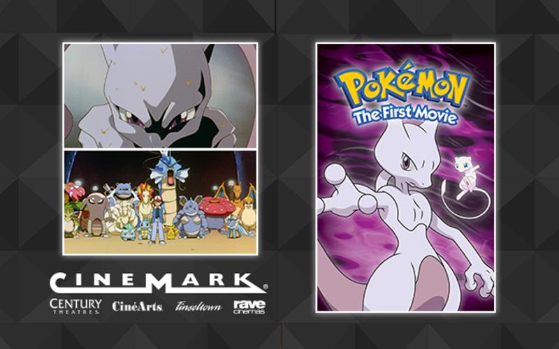 Pokémon: The First Movie Screenings