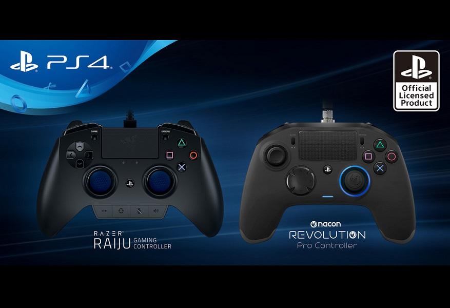 Razer Raiju and Nacon Revolution